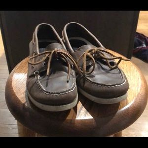 Leather Sperry Topsider Boast Shoes